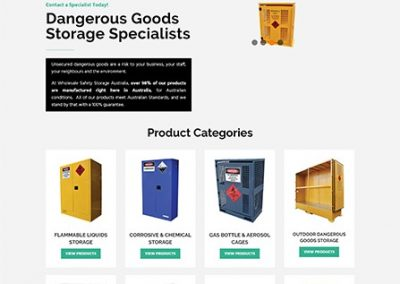 Wholesale Safety & Storage