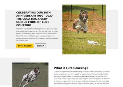 QLD Lure Coursing
