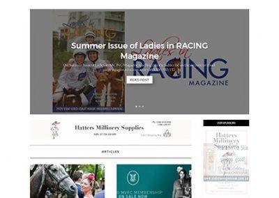 Ladies in Racing Magazine