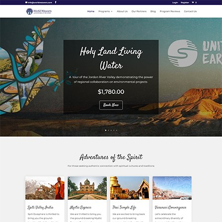 World Weavers Web Design Feature