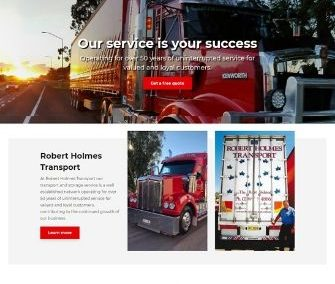 Robert Holmes Transport