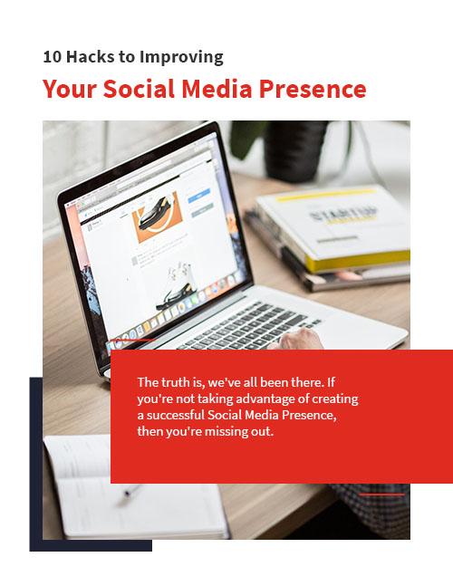 ultimate social media planner cover